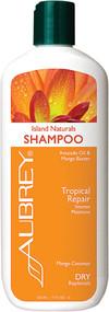 3 PACK of Aubrey Organics, Island Botanicals Shampoo, Dry Hair, Mango Coconut, 11 fl oz (325 ml)