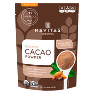 3 PACK OF Navitas Organics, Organic Cacao Powder, 8 oz (227 g)