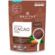3 PACK OF Navitas Organics, Organic Cacao Nibs, 8 oz (227 g)
