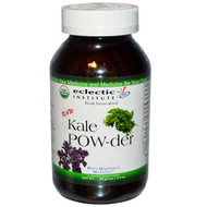 Eclectic Institute, Raw Fresh Freeze-Dried Kale Whole Food Powder, 3.2 oz (90 g)