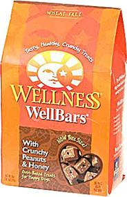 Wellness, Dog WellBars With Crunchy Peanuts and Honey - 20 oz