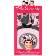 3 PACK OF Betty Dain Creations, The Socialite Collection, Boudoir Shower Cap, 1 Shower Cap