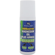 Natural Sport, AllSoothe, Magnesium Oil Plus Arnica, Unscented, 3 fl oz (89 ml)