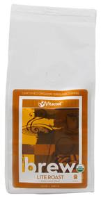Vitaco, Brew Lite Roast 100% Arabica Coffee Certified Organic Ground Coffee - 12 oz (340 g)