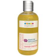 Natures Baby Organics, Shampoo & Body Wash, Lavender Chamomile, 8 oz (236.5 ml)