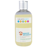 3 PACK OF Natures Baby Organics, Shampoo & Body Wash, Coconut Pineapple, 8 oz (236.5 ml)