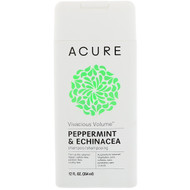 3 PACK OF Acure, Vivacious Volume Shampoo, Peppermint & Echinacea, 12 fl oz (354 ml)
