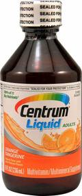 Centrum Multivitamin Multimineral Liquid For Adults Orange Tangerine - 8 fl oz
