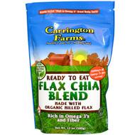 Carrington Farms, Ready To Eat, Organic Flax Chia Blend, 12 oz (340 g)