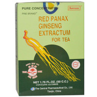 Chinese Imports, Red Panax Ginseng Extractum for Tea, 1.76 fl oz (50 CC)