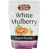 3 PACK OF Foods Alive, Superfoods, White Mulberry, 8 oz (227 g)