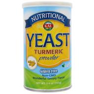 3 PACK OF KAL, Nutritional Yeast, Turmeric Powder, 5.4 oz (153 g)