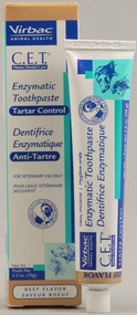 Virbac C.E.T. Enzymatic Toothpaste For Dogs and Cats Beef - 2.5 oz