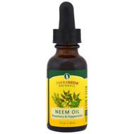 Organix South, TheraNeem Naturals, Neem Oil, Rosemary & Peppermint, 1 fl oz (30 ml)