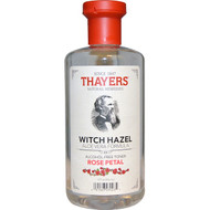 3 PACK OF Thayers, Witch Hazel, Aloe Vera Formula, Alcohol-Free Toner, Rose Petal, 12 fl oz (355 ml)