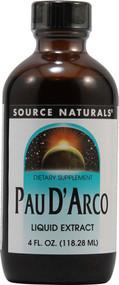 3 PACK of Source Naturals Pau DArco Liquid Extract -- 4 fl oz