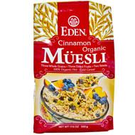 3 PACK of Eden Foods Organic Muesli Cinnamon -- 17.6 oz