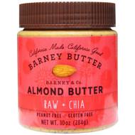 Barney Butter, Almond Butter, Raw + Chia, 10 oz (284 g)