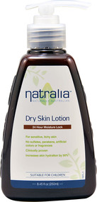 3 PACK of Natralia Dry Skin Lotion -- 8.45 fl oz