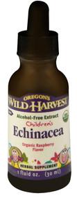 3 PACK of Oregons Wild Harvest Childrens Echinacea Organic Raspberry -- 1 fl oz