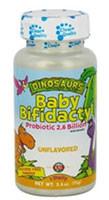 Kal, Dinosaurs Baby Bifidactyl Probiotic 2.6 Billion for Kids, Unflavored - 2.5 oz