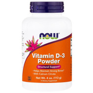 Now Foods, Vitamin D-3 Powder, 4 oz (113 g)