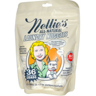 Nellies All-Natural, Laundry Nuggets, 36 Loads, 1.13 lbs, 1/2 oz