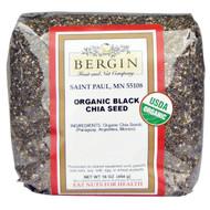 Bergin Fruit and Nut Company, Organic Black Chia Seed, 16 oz (454 g)
