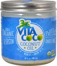 3 PACK of Vita Coco Organic Coconut Oil Extra Virgin -- 14 fl oz