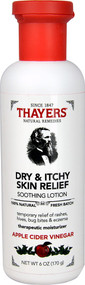 Thayers Dry & Itchy Skin Relief Soothing Lotion Apple Cider Vinegar - 6 oz