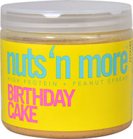 Nuts N More High Protein Peanut Spread Birthday Cake - 16 oz