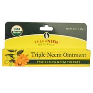 Organix South, TheraNeem Naturals, Triple Neem Ointment, 1 oz (30 g)