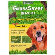 NaturVet, GrassSaver Biscuits, Tasty Peanut Butter, 46 Biscuits, 11.1 oz (315 g)