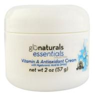 Glonaturals, Essentials Collection - Vitamin A Antioxidant Cream with Hyaluronic Acid & DMAE - Non-GMO - 2 oz