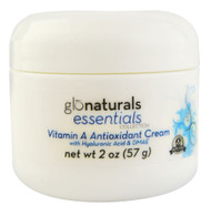 3 PACK of Glonaturals Essentials Collection - Vitamin A Antioxidant Cream with Hyaluronic Acid & DMAE - Non-GMO -- 2 oz