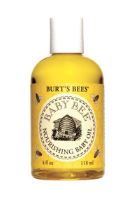 3 PACK of Burts Bees Baby Nourishing Baby Oil 100% Natural Baby Skin Care -- 4 fl oz