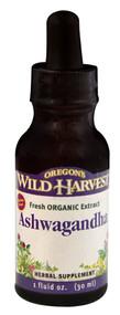 Oregons Wild Harvest, Ashwagandha - 1 fl oz