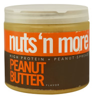 Nuts N More, High Protein Peanut Spread,  Peanut Butter - 16 oz