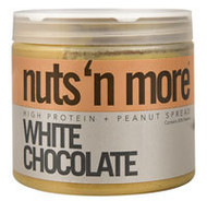 Nuts N More High Protein Peanut Spread  White Chocolate - 16 oz