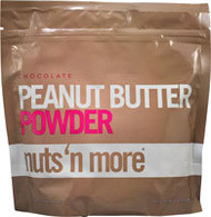 Nuts N More Peanut Butter Powder  Chocolate - 10 oz