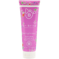 3 PACK OF Dr. Brite, Natural Vitamin C Toothpaste, Berrylicious, 5 oz (142 g)