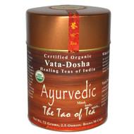 The Tao of Tea, Certified Organic, Vata-Dosha, Ayurvedic, Caffeine Free, 2.5 oz (72 g)