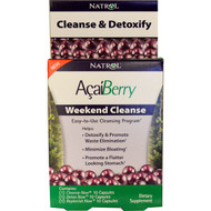 Natrol, AcaiBerry, Weekend Cleanse, 3 Part Program