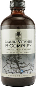 Natures Answer, Liquid Vitamin B-Complex, Natural Tangerine Flavor, 8 fl oz (240 ml)