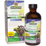 Natures Answer, Sambucus PM, Nighttime Formula, 4 fl oz (120 ml)