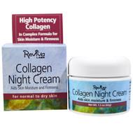 Reviva Labs, Collagen Night Cream, 1.5 oz (42 g)