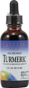 Planetary Herbals, Turmeric Full Spectrum - 2 fl oz