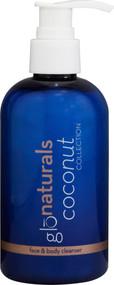 Glonaturals, Coconut Collection - Face and Body Cleanser - Non-GMO - 8 fl oz