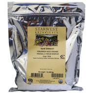 Starwest Botanicals, Fenugreek Seed Organic, 1 lb (453.6 g)