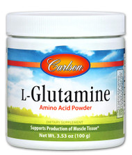 Carlson L-Glutamine Amino Acid Powder - 100 g